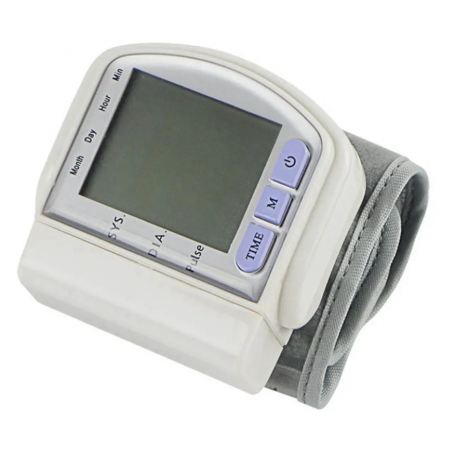 Tensiómetro Monitor De Presión Arterial De Muñeca Digital